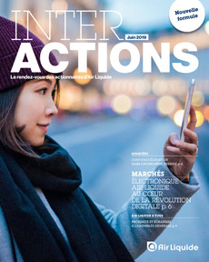 "Couverture - ""Interactions - Juin 2019"""