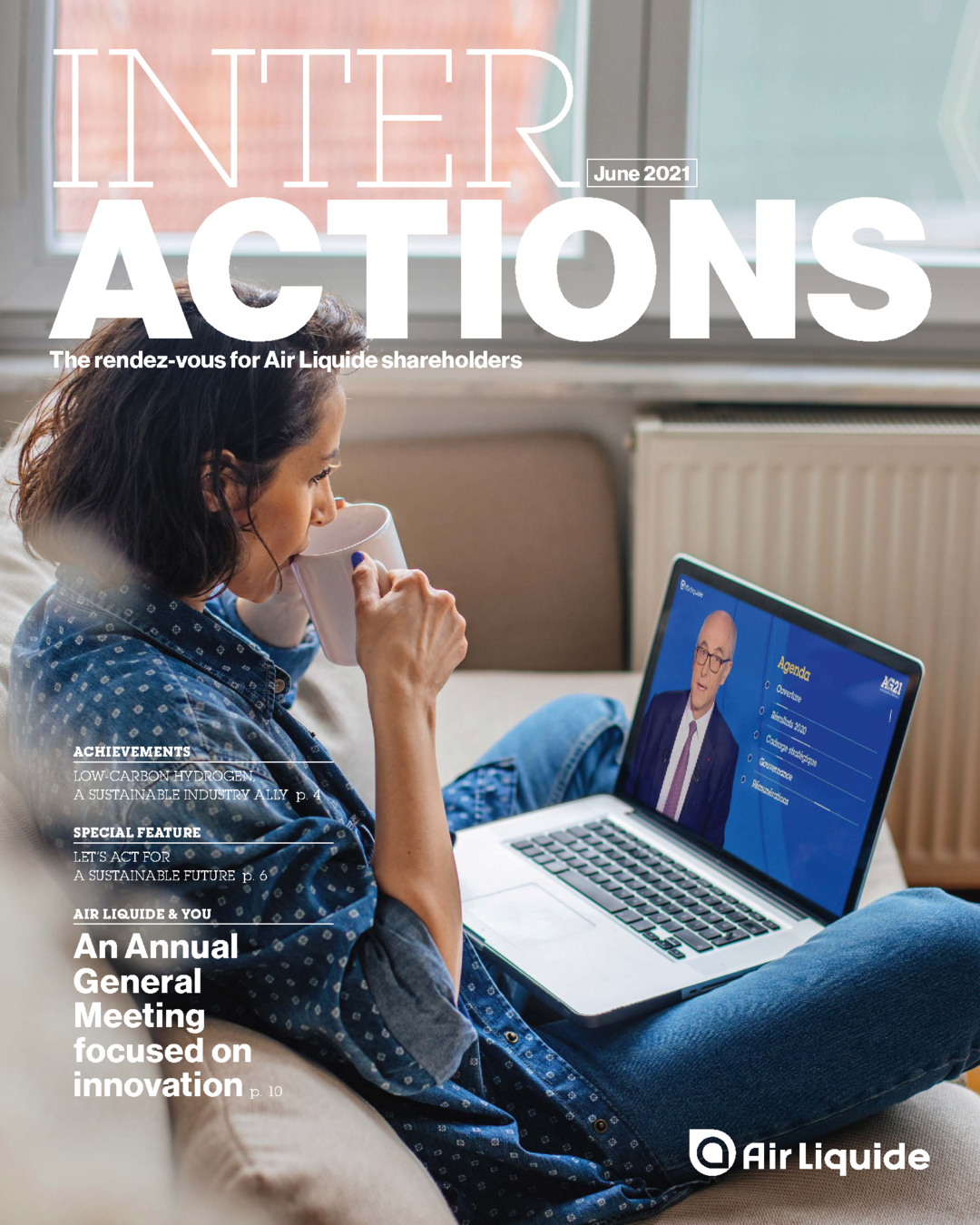 """Cover - """"Interactions - June 2021"""""""