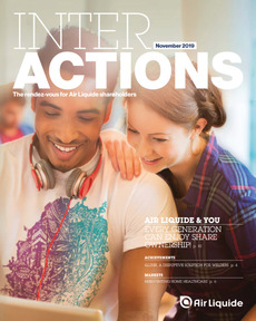 "Cover - ""Interactions - November 2019"""