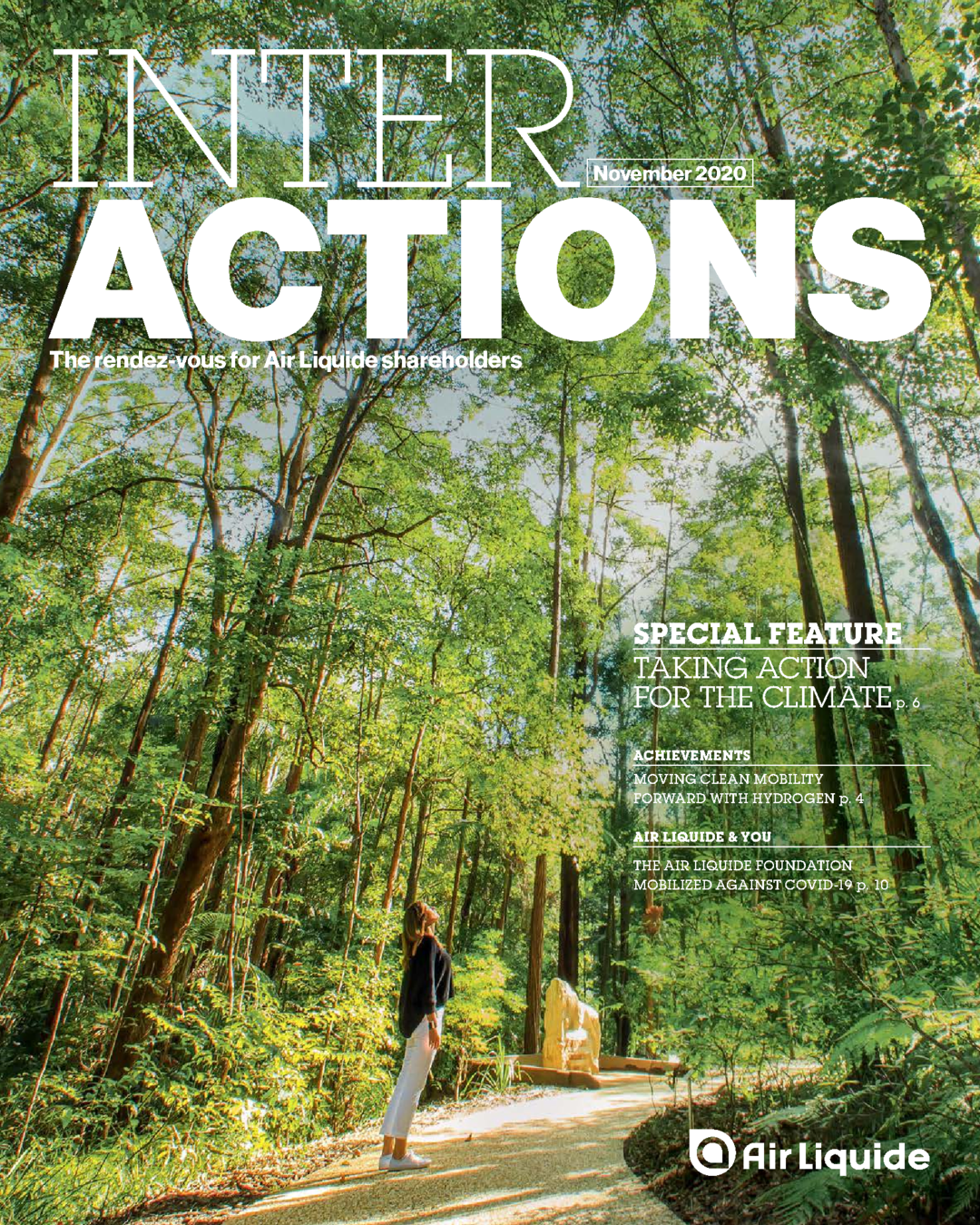 """Cover - """"INTERACTIONS - NOVEMBER 2020"""""""