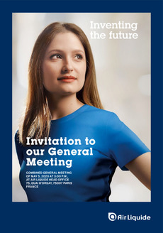 """Cover - """"Invitation to our General Meeting 2020"""""""